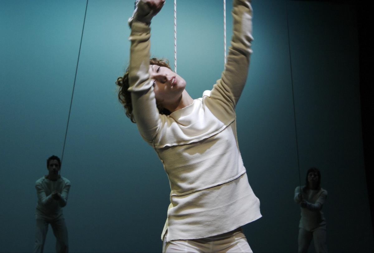étude #3 pour cordes et poulies (2007)
